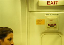 Emergency Exit Row (Photo: Thinkstock/Photodisc)
