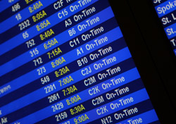 Air: Arrival and Departure Screen (Photo: iStockphoto/Silvrshootr)