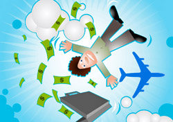 Not enough money to fly (Photo: iStockPhoto.com/Manik Ratan)
