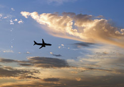 Air: Plane Silhouette, Clouds (Photo: Thinkstock/Ron Chapple Studios)
