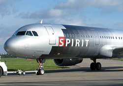 Spirit Airlines aircraft on runway (Photo: Spirit Airlines)
