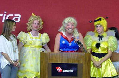 Virgin America - Boston Logan Press Conference