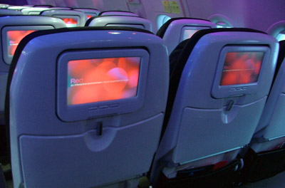 Virgin America - Main Cabin Seats