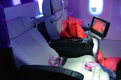 Virgin America - First Class