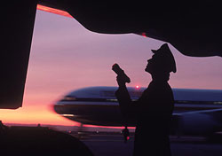Airline safety check (Photo: Stewart Cohen/Index Open)