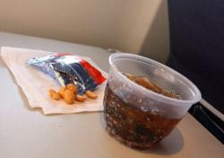 Typical airline snack (Photo: iStockPhoto.com/Christine Balderas)
