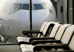 Airplane Past Empty Seats (Photo: iStockphoto/Shane Kato)
