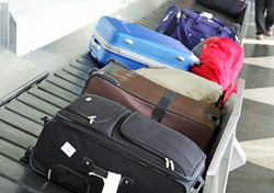Airport: Luggage on Carousel (Photo: Shutterstock/linerpics)