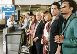 Airport: Travelers Queued at Customs, Immigrations Line (Photo: Thinkstock/Digital Vision)