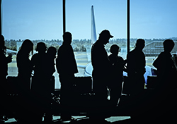(Photo: Airport Boarding Line via Shutterstock)