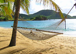 Hammock at Curtain Bluff Hotel, Antigua (Photo: Josh Roberts)