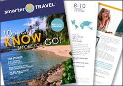 SmarterTravel.com's 10 Things To Know Before You Go