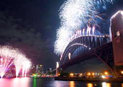 """<h2>Sydney</h2> New Year's Eve in <a href=""""http://www.cityofsydney.nsw.gov.au/NYE/Default.asp""""target=""""_blank"""">Sydney</a> is no small affair: More than one million spectators, a holiday boat parade, and two gargantuan fireworks displays will help ring in 2008. If you've got kids (or are just an early bird), take in the Family Fireworks at 9 p.m., immediately followed by the Harbour of Light Parade. The midnight pull-out-all-the-stops fireworks show features explosives unleashed from six barges as well as the Harbour Bridge, with more than 100,000 pyrotechnic effects scheduled to light up the sky. To plan your festivities, visit the <a href=""""http://www.cityofsydney.nsw.gov.au/NYE/Default.asp""""target=""""_blank"""">City of Sydney website</a>.   (Photo: Tim Starkey/iStockphoto.com)"""