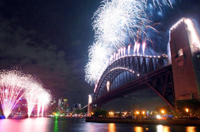 Sydney New Years Eve fireworks