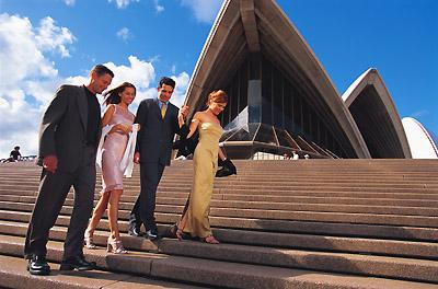 Sydney Opera House patrons
