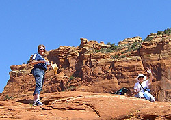 In Sedona on a Adventurous Wench tour (Photo: Adventurous Wench)