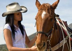 Arizona - Woman with horse (Photo: iStockphoto/Judi Ashlock)