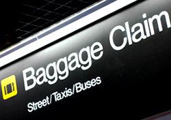 Baggage Claim Sign (Photo: Thinkstock/iStockphoto)