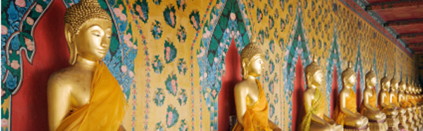 Bangkok Golden Buddhas (Photo: iStockPhoto/YinYang)