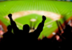 Baseball fan (Photo: Adam Kazmierski, iStockPhoto.com)
