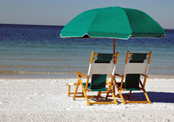 Beach chairs facing the Gulf of Mexico (Photo: Andrew Nokes/tStockphoto.com)