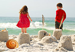 Beach Kids Sandcastle (Photo: iStockphoto/Cheryl Casey)