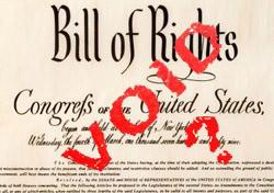 Voided Bill of Rights (Photo: Molly Feltner)
