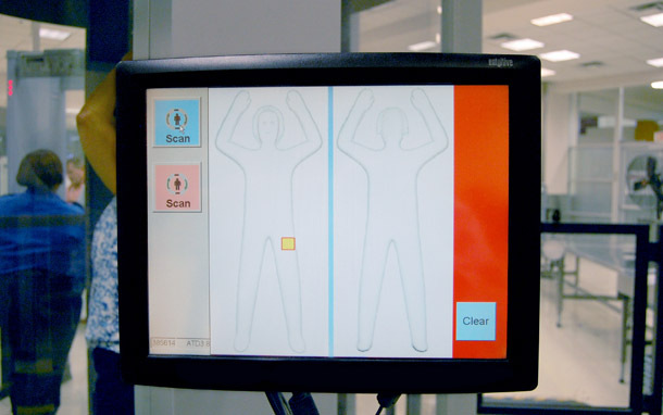 Airport: Body Scanner (Photo: Transportation Security Administration)