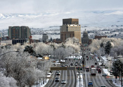 Idaho: Boise Skyline (Photo: iStockphoto/Christian Nafzger)