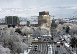Idaho: Boise Skyline (Photo: iStockphoto/Christian Nafzger)