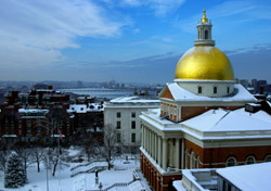 Boston State House Winter (Photo: iStockphoto/Stephen Orsillo)