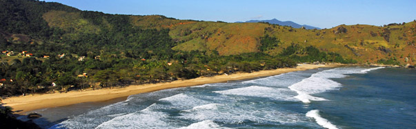 Bonete Beach, Ilhabela, Brazil (Photo: Molly Feltner)