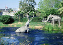 The La Brea Tar Pits, Los Angeles
