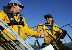 Lesson with OCSC Sailing School (Photo: Greg Tarczynski)