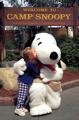 Camp Snoopy at Knott's Berry Farm, California