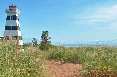 Lighthouse on Prince Edward Island