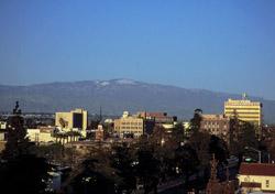 California: Bakersfield Skyline (Photo: Bakersfield Convention & Visitors Bureau)