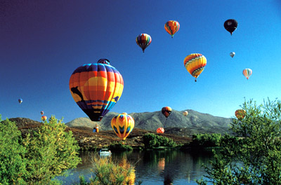 Temecula Valley Balloon and Wine Festival, California