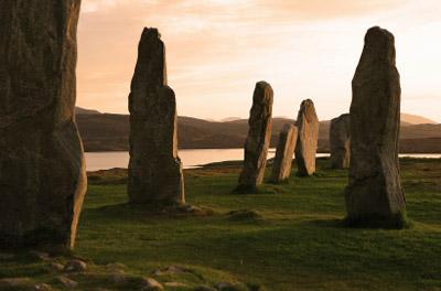 Scotland-Isle of Lewis: Callanish Stones