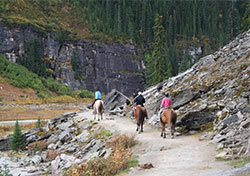 Horseback Riding in the Canadian Rockies (Photo: Shutterstock.com)