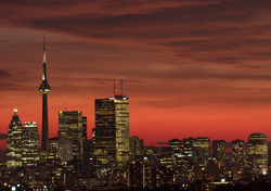 Toronto Skyline at Sunset (Photo: Thinkstock/iStockphoto)