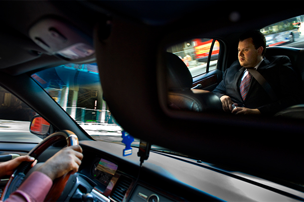 Uber Driver and Passenger (Photo: The Washington Post/Getty Images)
