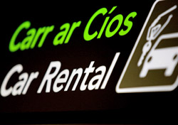 Car Rental Sign (Photo: iStockphoto/doram)