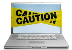 Caution Laptop (Photo: iStockphoto/DNY59)