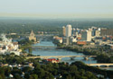 Cedar Rapids Downtown (Photo: Cedar Rapids Area Convention & Visitors Bureau)