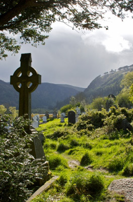 Ireland - Wicklow: Celtic Cross