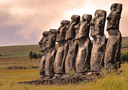 Easter Island statues (Photo: Adalberto Rios Szalay/Sexto Sol)