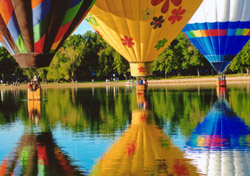 "Colorado Springs hosts the largest and longest-running hot-air balloon festival in the Rockies. For 30 years, the <a href=""http://www.balloonclassic.com/"" target=""_blank"">Colorado Balloon Classic</a> has drawn crowds to Memorial Park for this free, family-friendly event, held Labor Day weekend. More than 100 balloons participated this year.  (Photo: Colorado Balloon Classic)"