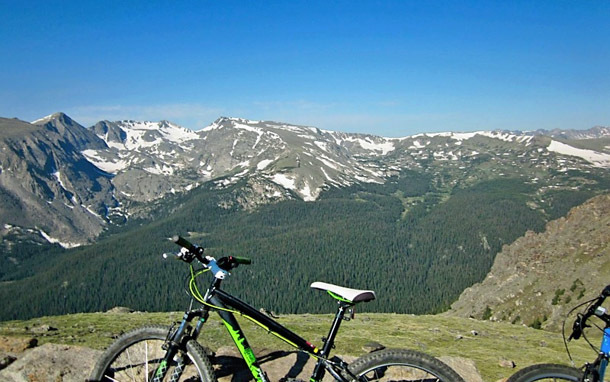 Colorado: Bike at Rocky Mountain National Park (Photo: Caroline Morse)