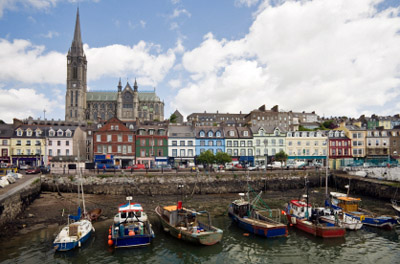 Ireland: Cobh Harbor